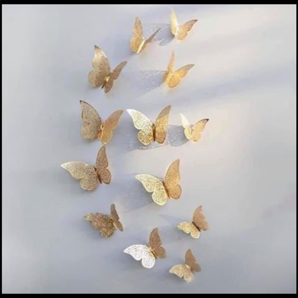 Other - 3D butterflies stickers